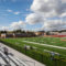 7-Oberlin Stadium Field with soccer - Square