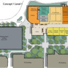Student Life Center Concept Design