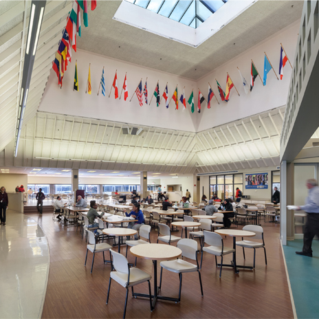 Forest Park Community College Student Center Renovation Hastings Chivetta