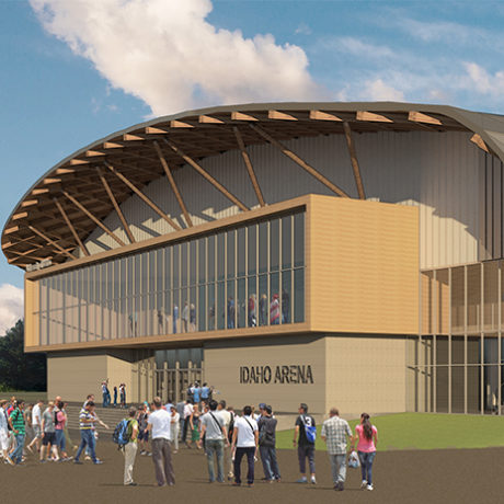 Hastings+Chivetta Architects Selected To Design University Of Idaho Arena