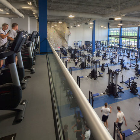 Cadet Fitness Center At The Us Air Force Academy Earns