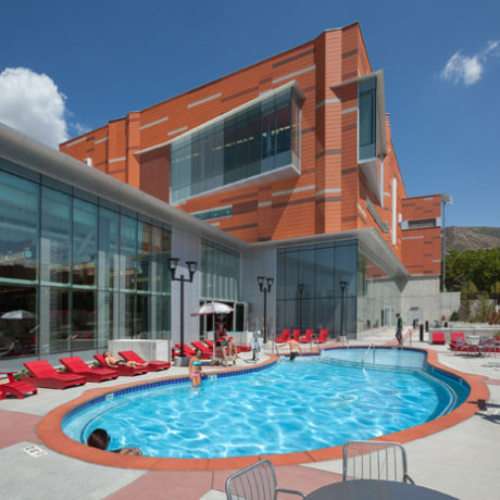 the university of utah student life center awarded athletic business