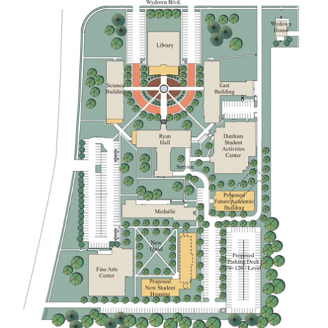 Fontbonne Campus Map.Space Utilization Study Hastings Chivetta