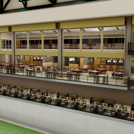 Kibbie Dome Renovation